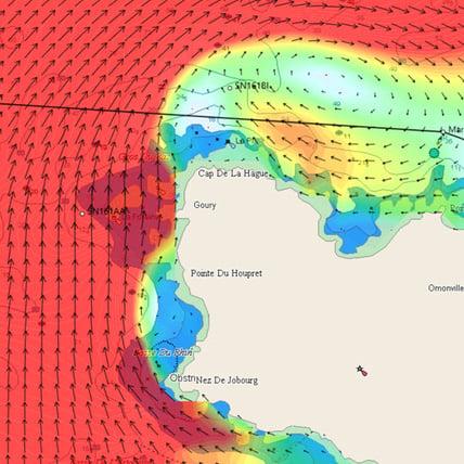 Cap de La Hague tidal Streams 2