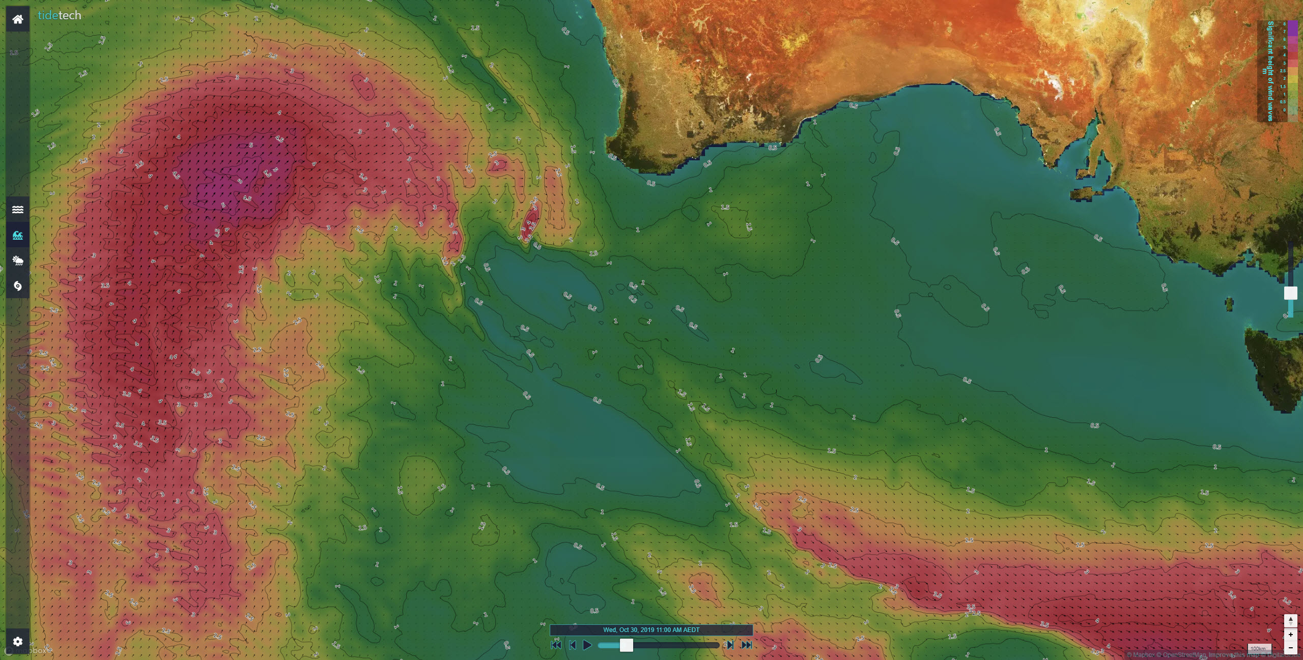 Global Significant Wave Height Extended