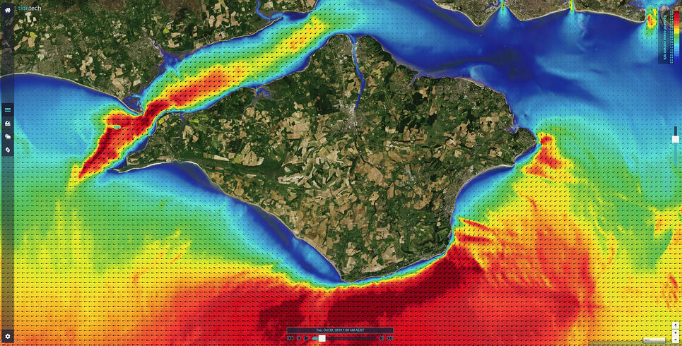 Isle of Wight Tidal Currents