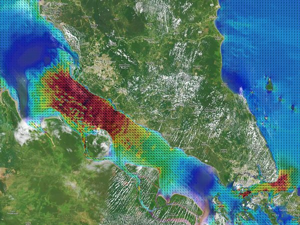 Malacca And Singapore Straits Currents