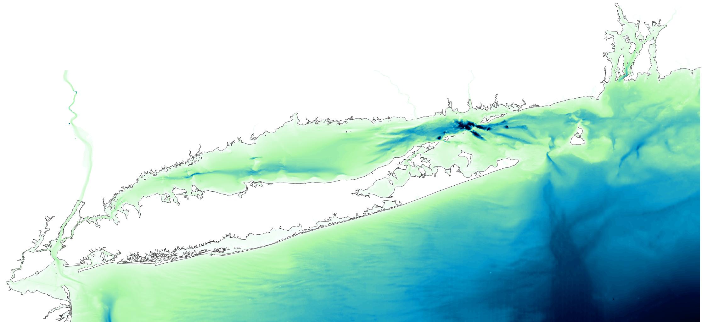 Long Island Sound Bathy