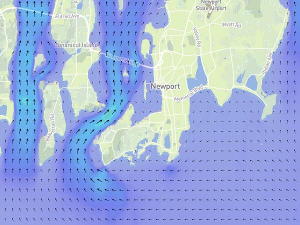 Long Island Sound Currents Narragansett