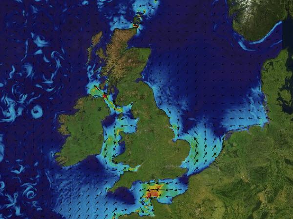 North West European Currents