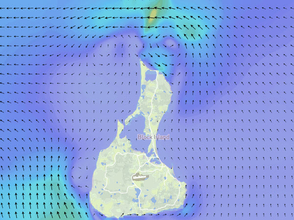 Long Island Sound Currents Block Island