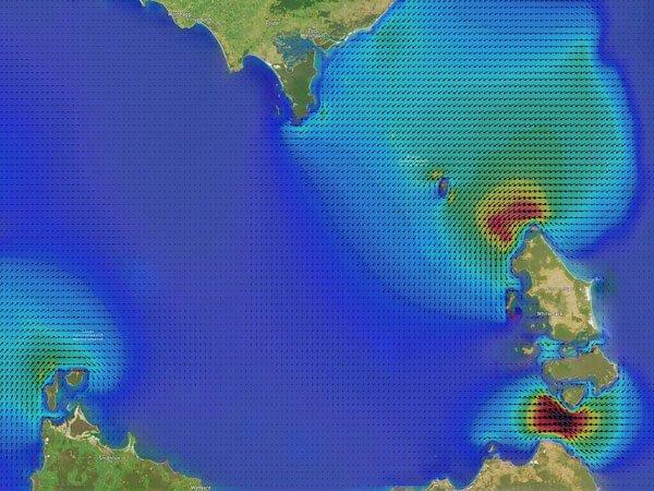 Bass Strait Currents