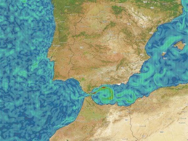 Gibraltar Strait Currents