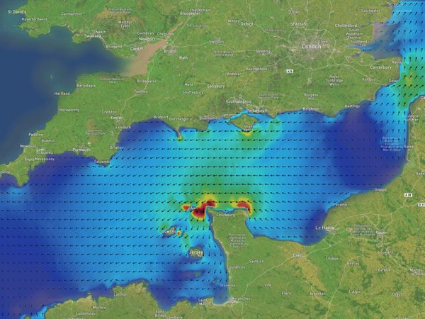 English Channel Currents