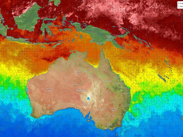 Indo-Australasian Sea Surface Height and Currents